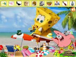 ef7047c1477 Игры онлайн Губка Боб выходит из воды бесплатно.