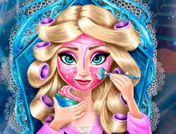 e3b675239 Hra Ľadová kráľovná: Makeup online. Hrať zadarmo