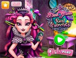 Темная королева: Реальные прически
