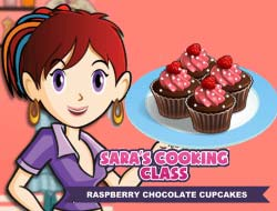 Кухня Сары: шоколадные кексы