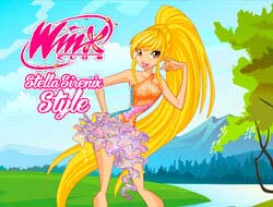 Gioco Stile Winx Club Stella Sirenix