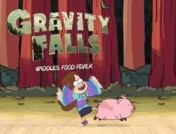 Jogo Gravity Falls Wadless Food Fever online Online Gratis