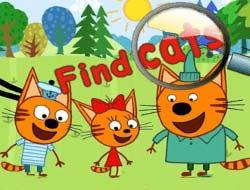 Три кота игры онлайн