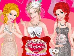 92bdab2c5a Játék Esküvői vásárlás koszorúslányokkal . Játssz ingyenes online.