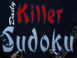 Game Daily Killer Sudoku online  Play for free