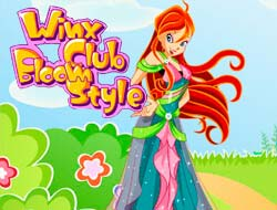 winx club games dress up