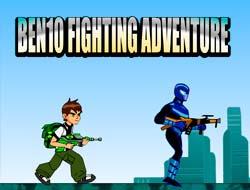 Game Ben10 Fighting Adventure Play Free Online