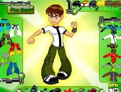 Game Ben 10 Dress Play Free Online