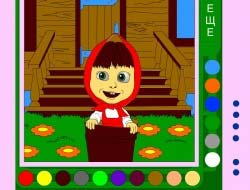 игры раскраски для девочек играть бесплатно на Game Game