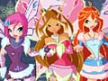 Mäng Winx Happy Year Rotate Puzzle