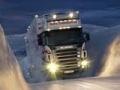 খেলা Winter truck jigsaw