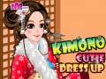 Spēle Kimono Cutie Dress Up