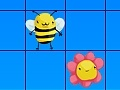 Igra Bees and flowers
