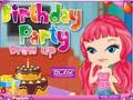 Παιχνίδι Birthday Party Dress Up
