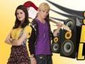 Žaidimas Austin & Ally Sonic Boom Lounge