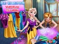 Žaidimas Ice Kingdom Wardrobe Cleaning