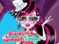 Žaidimas Draculaura Swimsuits Design