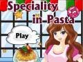 Spel Speciality in Pasta