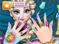 Игра Ice Queen Nails Spa