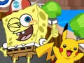 Игра Sponge Bob Pokemon Go