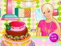 Hra Barbies Birthday Cake