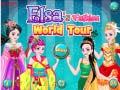 Hra Elsa's Fashion World Tour