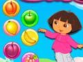 Игра Dora Fruit Bubble