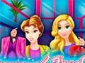 Игра Rapunzel And Belle Shopping