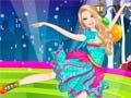 Joc Barbie Ice Dancer Princess Dress Up