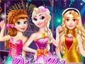 Permainan Disney Princess New Year Prom