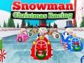 Игра Snowman Christmas Racing
