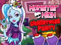 Игра Monster High Christmas Party