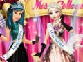 Игра Princesses At Miss College Pageant