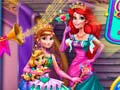 Игра Anna And Ariel Princess Ball Dress Up