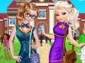 Mäng Sisters Go To Arendelle College