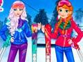 Mäng Princesses At Ski