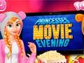 ゲームPrincesses Movie Evening