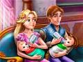 Игра Rapunzel Twins Family Day