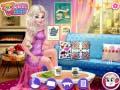 Spēle Princesses Fashion Over Coffee