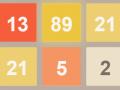 Hra 2048 Fibonacci