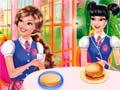 Игра Princesses Burger Cooking