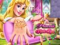 Hra Sleeping Princess Nails Spa
