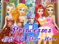 Spēle Princesses Gift To Their Hero