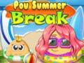 Spēle Pou Summer Break