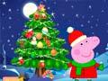 Игра Peppa Pig Christmas Tree Deco