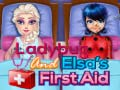 Hra Ladybug And Elsa's First Aid