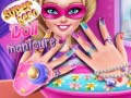 Permainan Superhero doll manicure