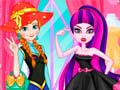 Hra Princess vs Monster Girl