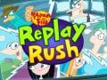 Lojë  Phineas And Ferb Replay Rush