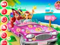 Spel Princesses Beach Trip